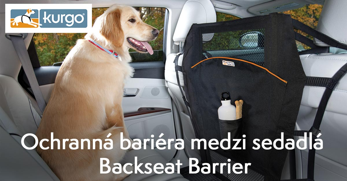 Ochranná bariéra medzi sedadlá Kurgo Backseat Barrier