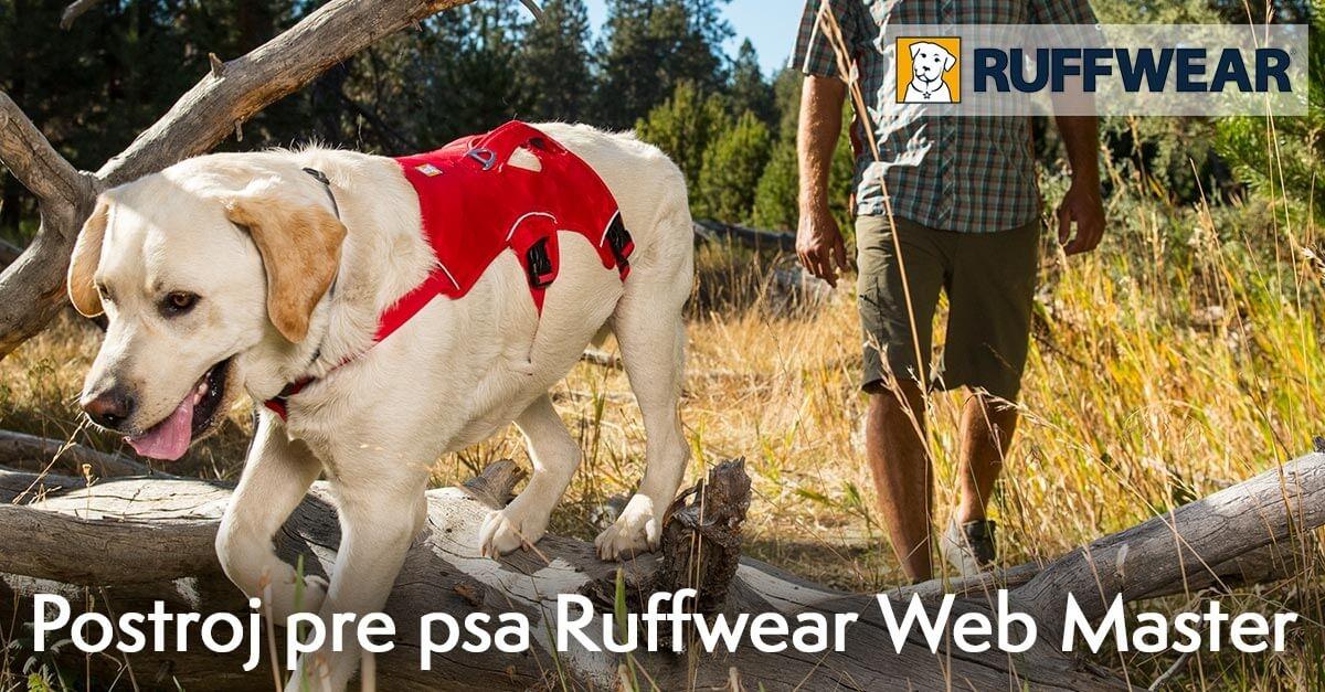 Predchádzajúci Predchádzajúci Postroj pre psy Ruffwear Web Master™ Harness