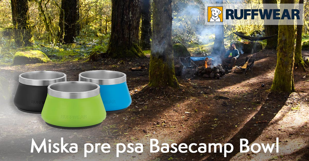 Miska pre psa Ruffwear Basecamp™ Bowl