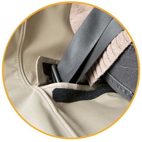 Ochranný prehoz na zadné sedadlá Kurgo Wander Bench Seat Cover