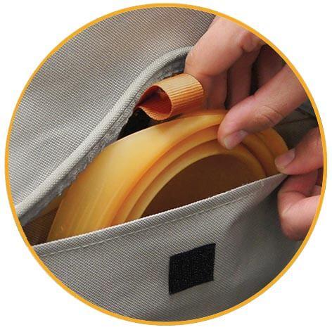 Ochranný poťah na predné sedadlo Kurgo Co-Pilot Bucket Seat Cover