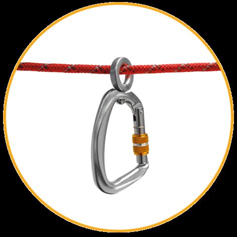 kempingový závesný systém Ruffwear Knot-a-Hitch ™