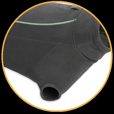 Zimná flísová bunda pre psy Ruffwear Climate Changer™